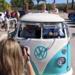 furgoneta clásica alquilada para celebrar primera comunión en murcia