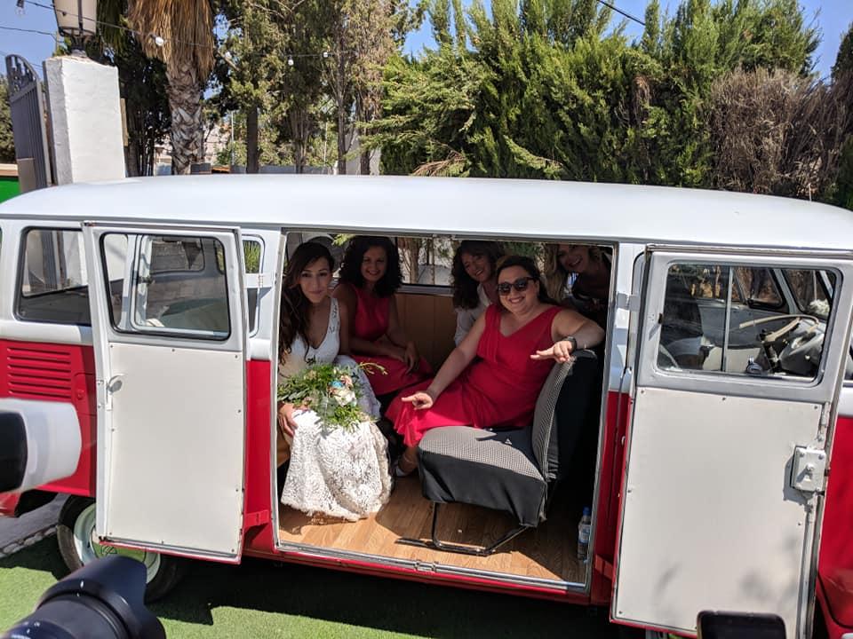 furgoneta para bodas de alquiler murcia
