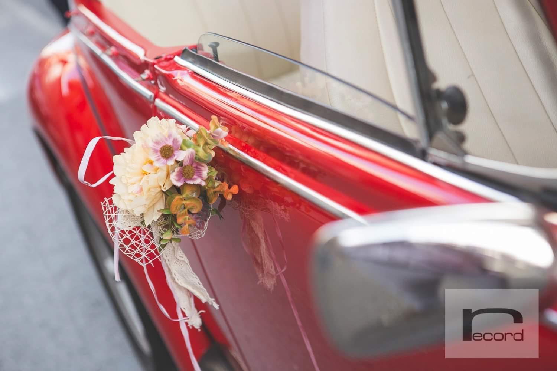 adorno para coche clásico de alquiler para boda murcia