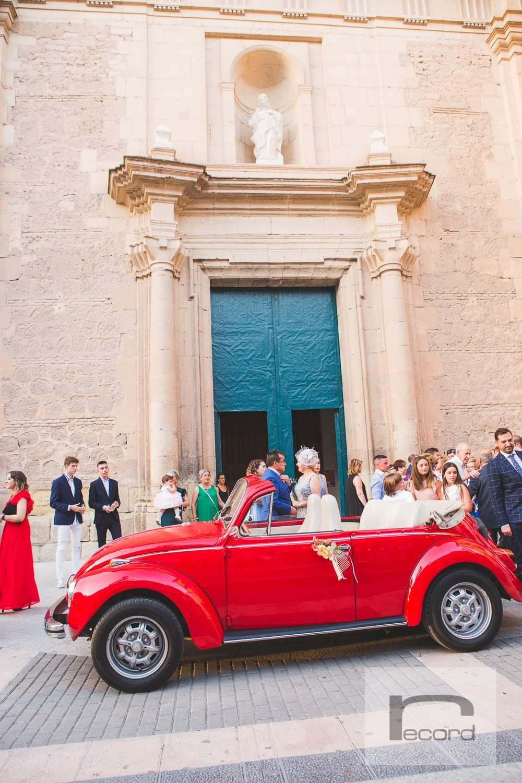 alquiler coche clásico para boda en Yecla